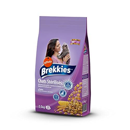 Brekkies Excel Cat Sterilized Lot de 6 boîtes de 1,5 kg