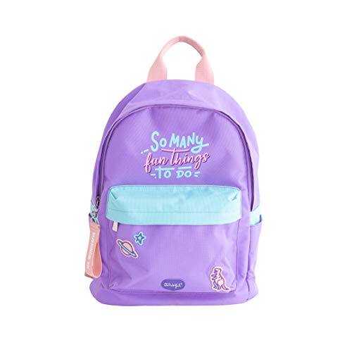 Mr. Wonderful Backpack-So Many Fun Things to do, Multicolor, Talla Única