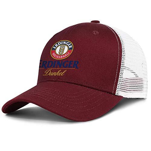 Unisex Erdinger-Dunkel-Beer- Trucker Hat Dad Cap Rock Punk Caps