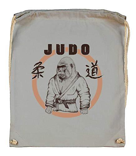 Druckerlebnis24 Turnbeutel - Judo...