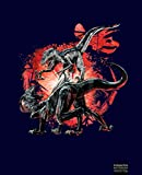 Jurassic World Fallen Kingdom Fighting Dinos, Composition Notebook