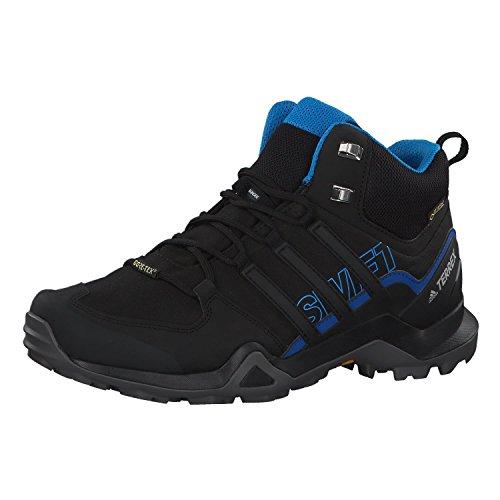 Adidas Terrex Swift R2 Mid GTX, Zapatillas de Marcha Nórdica Hombre, Negro (Core Black/Core Black/Core Black 0), 47 1/3 EU