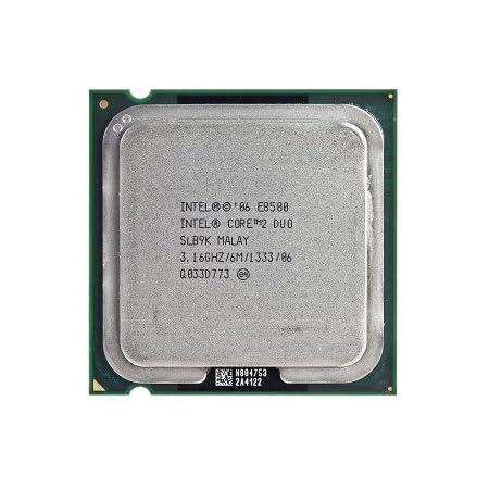 Intel Core 2 Duo E8500 3.16GHz 1333MHz 6MB Socket 775 Dual-Core CPU (Renewed)