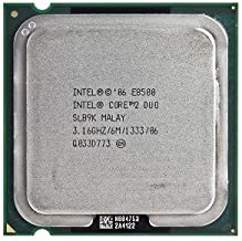 Intel Core 2 Duo E8500 3.16GHz 1333MHz 6MB Socket 775 Dual-Core CPU (Renewed)