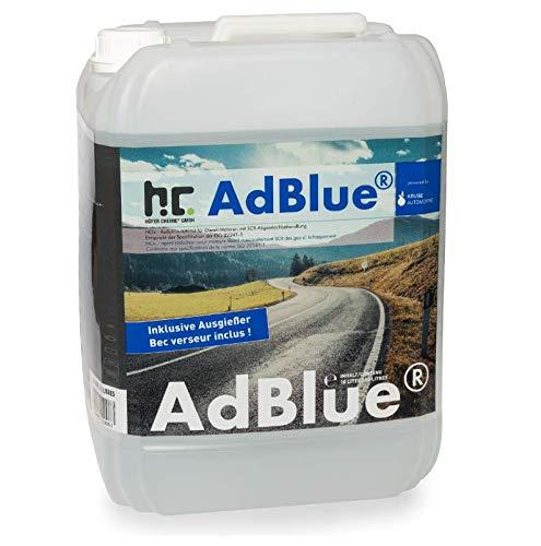 AdBlue® 2 x 10 L Kanister inklusive Ausgießer - Auto Harnstofflösung für Diesel - Höfer Chemie powered by Kruse Automotive