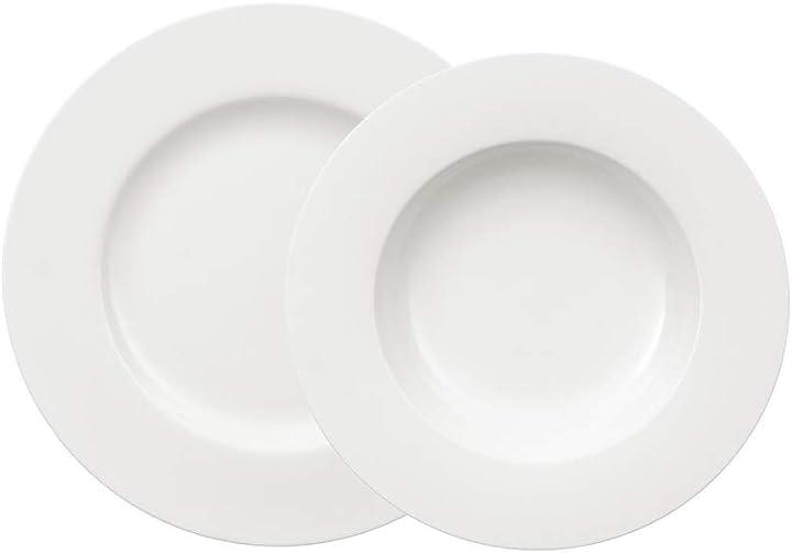 Servizio piatti in porcellana 12 pezzi villeroy & boch 1044127609