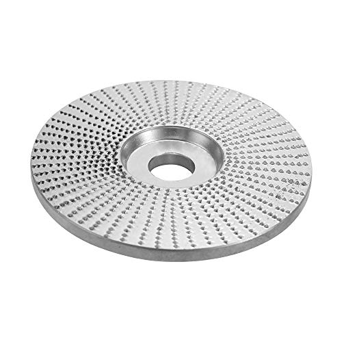 Fesjoy GRINDING WHEEL WOOD ANGLE for GRINDERS | Grinding Wheel Wood Angle for Grinders - Sanding Carving Rotary Tool Abrasive Disc for Angle Grinder Tungsten 5 8Inch Bore - Type 2