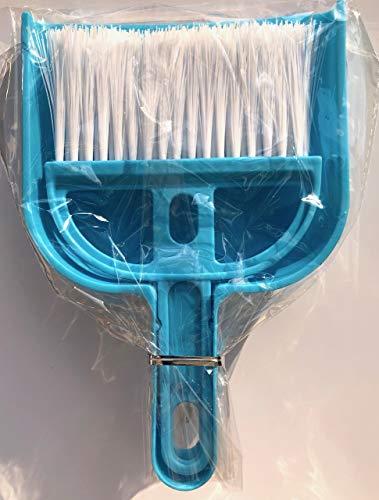 na und-und 67464 Kehrgarnitur Tisch Kehrset Handfeger 20cm, Farbe:türkis