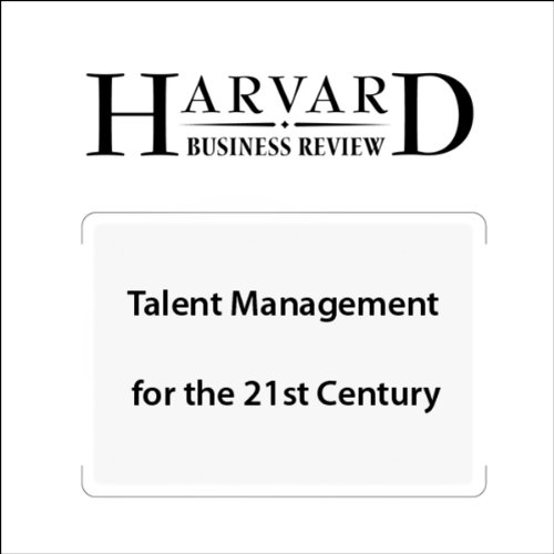 Talent Management for the 21st Century (Harvard Business Review) audiobook cover art