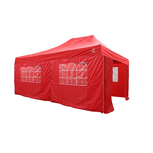 All Seasons Pop-up Gazebo 6x3m Review – Fast Building, Extra Large  & Fully Waterproof Pop-up Gazebo