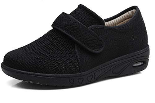 DYWLQ Zapatos para caminar para mujeres, zapatos ortopédicos para mujeres, calzado para fascitis plantar, zapatillas de malla con aire, calzado ortopédico para pies hinchados-03_39