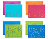 American Greetings Thank You Cards with Envelopes, Bold Multicolored (50-Count)...