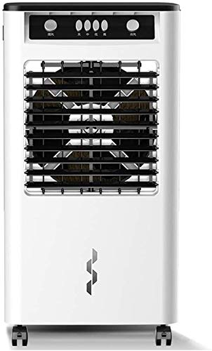 YPLDM Air Coolers Portable Evaporative,Compact Cooling Tower Fan,Mobile Air Conditioner Portable,Quiet, 3-Wind Type Space Cooler,White
