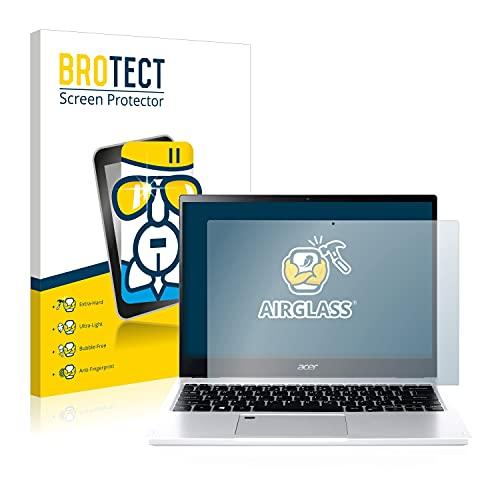 BROTECT Panzerglas Schutzfolie kompatibel mit Acer Spin 3 SP313-51N - AirGlass, extrem Kratzfest, Anti-Fingerprint, Ultra-transparent