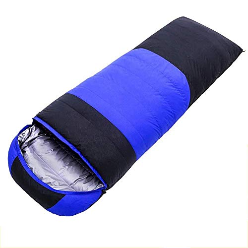 CATRP-Sac de couchage De Camping - Temps Chaud Et Froid 3 Saisons (imperméable Léger) pour Le Matériel De Camping, Les Voyages Et Les Loisirs (Color : Blue)