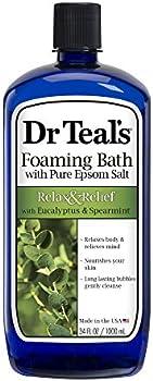 Dr Teal's Foaming Bath (Epsom Salt) Eucalyptus Spearmint 34 Fl Oz