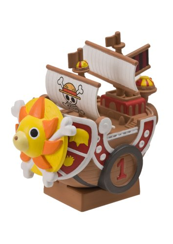 One Piece Chara-Bank Pirate Ship Series Money Bank / Tirelires: Thousand Sunny 10 cm