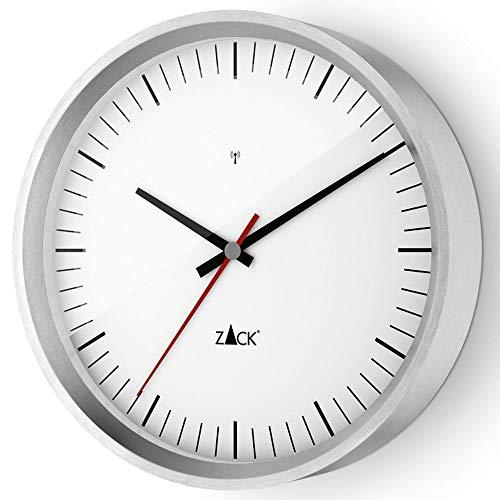ZACK Funk-Wanduhr VIDA 60065, weiß, rund D. 24 cm