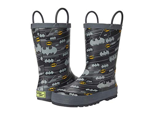 Western Chief Kids Boy's Bat Hangout Rain Boot (Toddler/Little Kid) Black 11-12 Little Kid M