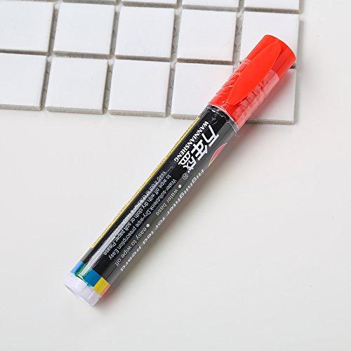 Bolígrafo Marcador de Abeja Reina, Kit de Juego de Herramientas de Pintura de Marcador Rey de Abeja Mantener el Equipo de Apicultor Escribir Suministros para Animales de Granja en Rojo