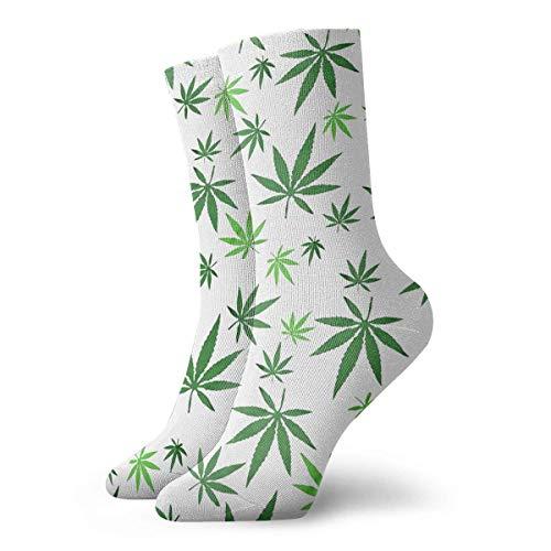 Tammy Jear Calcetines de marihuana Weed Crews Cálido confort Botas duraderas Calcetines divertidos de invierno Clima frío