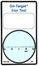 On-Target Water Testing Kits, Quick Water Testing Cards Deliver Accurate Results, Iron, 2-Pack