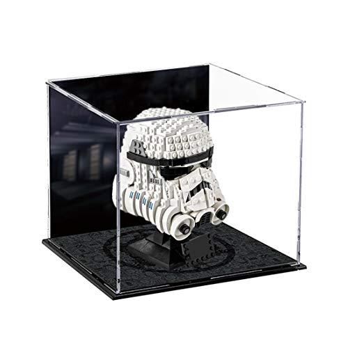 IT IF IT Schöne Vitrine Acryl Schaukasten Display Case für Lego 75276 Stormtrooper Helm