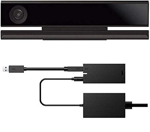 Hinmay Adaptador de Corriente para Sensor Kinect 2.0 USB 3.0 para Xbox One S Xbox One X Windows PC Windows 8/8.1/10 App Programa de Desarrollo Interactivo, Show, EU Plug