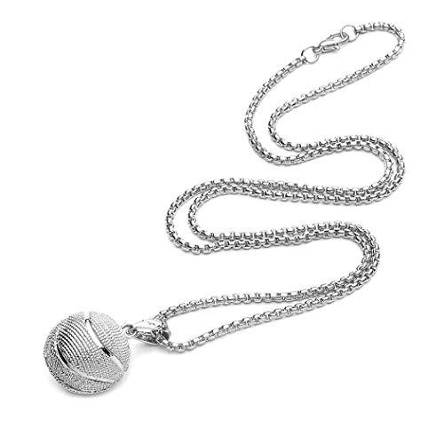 Vektenxi Halskette schlüsselbein Kette Basketball zubehör sauber Kreativ und Nützlich