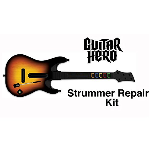 MPF Products Guitar Hero World Tour GHWT Guitar Strummer Switch Repair Kit (2 Strum Switches) Replacement Compatible with XBOX 360 PS2 PS3 Wii