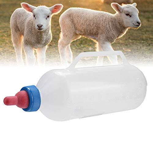 HEEPDD 1.5L kalfsmelk Feeder Fles Duurzame Verpleging Fles Feeding Set met Handgreep en Schaal voor schapen Lam Koe