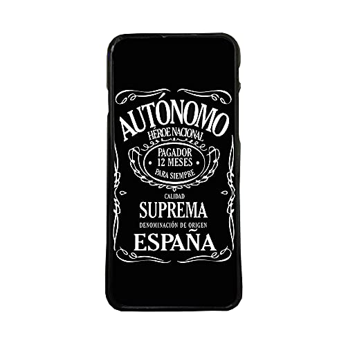 Funda Carcasa de móvil para Apple iPhone 7 autonomo heroe Nacional TPU Borde Negro