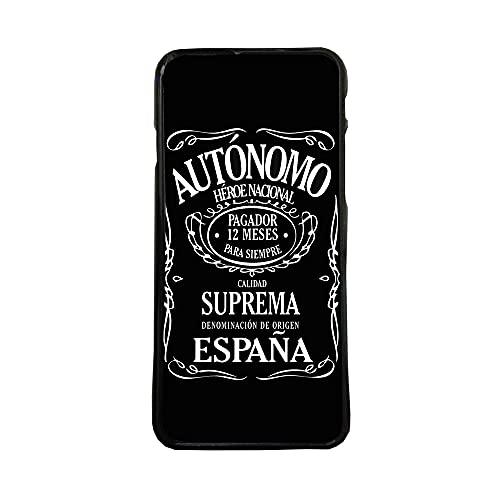 Funda Carcasa de móvil para Apple iPhone 7 autonomo heroe Nacional TPU Borde Negro