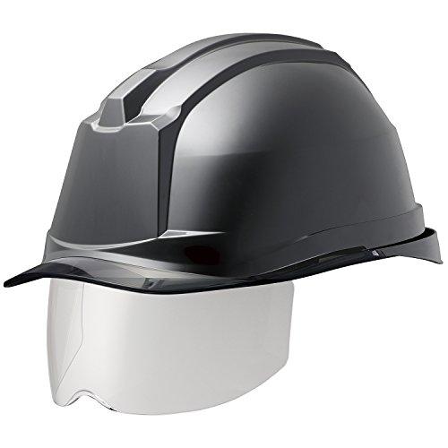 ミドリ安全 ヘルメット 一般作業用 電気作業用 スライダー面 SC19PCLS RA3 αライナー付 ブラック スモーク