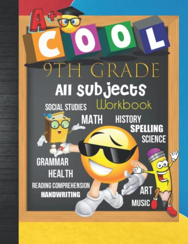 Compare Textbook Prices for 9th Grade All Subjects Workbook: 9th Grade Homeschool All-In-One Curriculum Worksheets: Math, Language Arts, Science, History, Social Studies, ... Tracker Sheets and End-of-Year Elevation Form  ISBN 9798498931746 by Publication, Ninth Curriculum