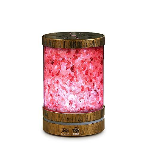 COXTOD Mini aromaterapia humidificador 120 ml colorido silencioso sal mineralización ultrasónica difusor de aceite esencial en ambientador hogar