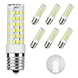 DiCUNO LED電球 E17口金 50W形相当 550lm 省エネ90% 昼白色相当(6W) 6000K 広配光タイプ 6個パック