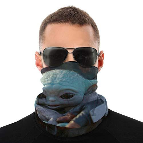 Baby Yoda Headwear Diademas Multifuncional Bandana Amplia Magia Bufanda Tubo Bufanda Bufanda UV Insectos Escudo Deporte Hombres Mujeres Unisex