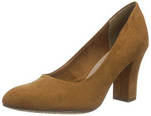 Tamaris Damen 22416 Pumps, Braun (Cognac 305), 36 EU