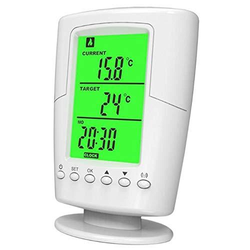 Tiamu Ts-2000 Socket Termostato Inalámbrico Programable Blanco Lcd Inicio Control De Temperatura Inteligente Socket Nuevo Dise?o Enchufe De La Ue
