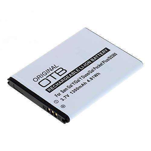 Mobilfunk Krause - Akku für Samsung GT-S5301 / S5301 1300mAh Li-Ionen (EB454357VU)