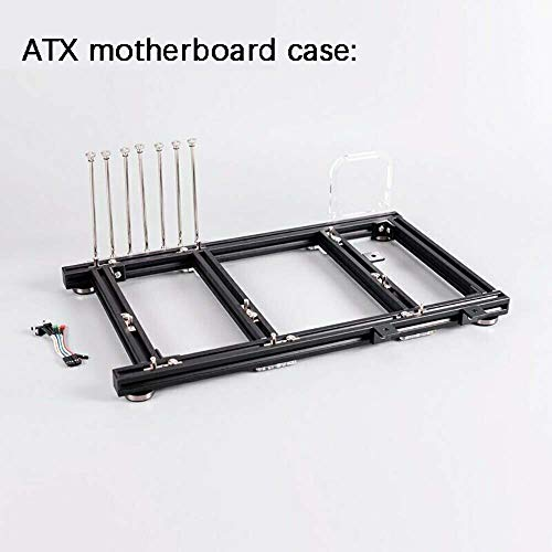Mini ITX MATX ATX PC Test Bench Open Air Frame Overclock Case Computer Mount Aluminum Chassis for HTPC Graphics Card