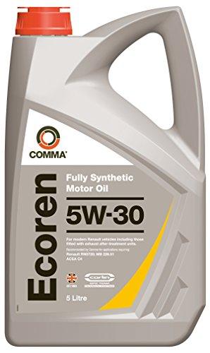 Comma ECR5L Ecoren 5W-30 synthetische motorolie 5 L