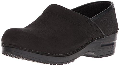 Sanita Women's Professional Oil Closed Black Leather...