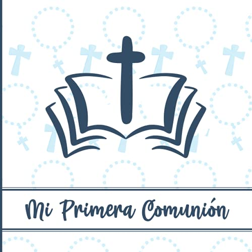 Libro de firmas comunion: Regalo comunión para niños es este regalos de primera comunión para chicos un libro de memoria de comunión para felicitar como regalo de la santa comunión