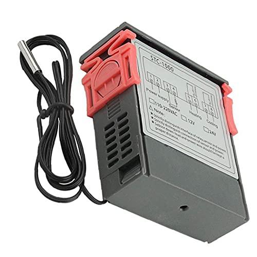 LAANCOO Temperatura Controlador de Pantalla Digital STC-1000 microordenador Digital 110V-220V Controlador de Temperatura