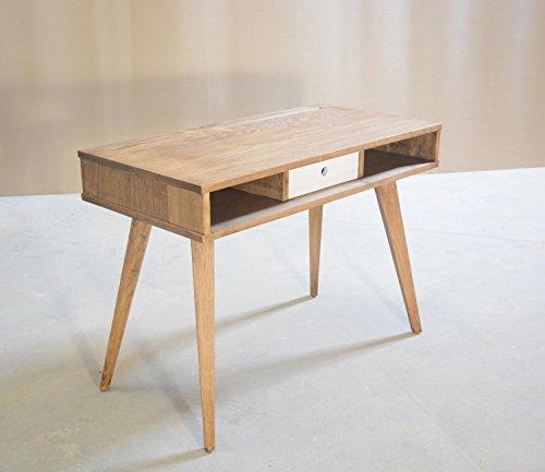 Mesa de escritorio de madera maciza, Mesa de despacho, Consola de ...