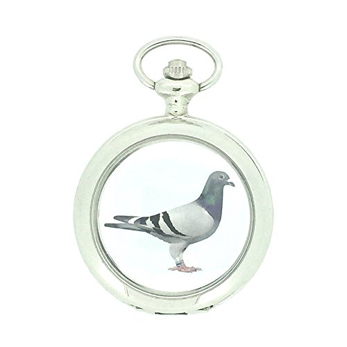 Nueva paloma reloj de bolsillo con cadena por westime