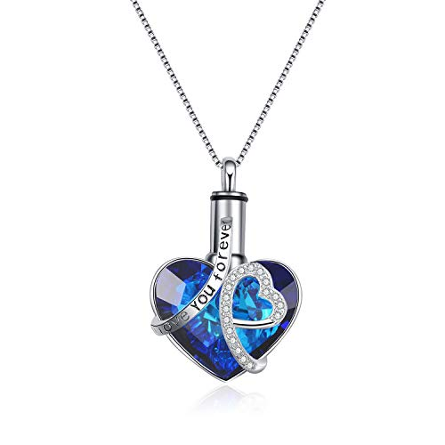 Aobococo Heart Urn Necklace