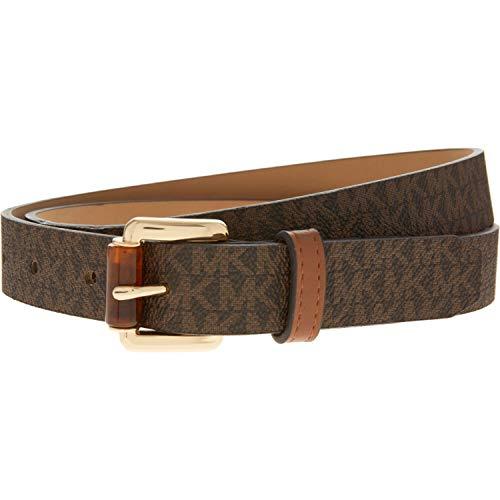 Michael Kors Women's Brown Belt, Large